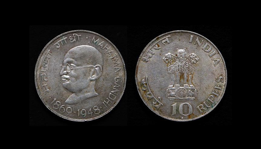 Mahatma Gandhi on UK coinage only the start
