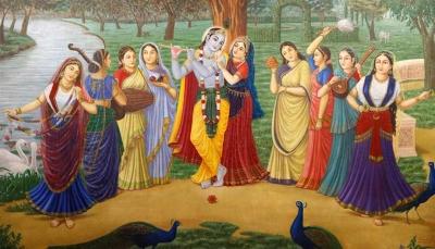 Online darshan marks Janmashtami at Bhaktivedanta Manor