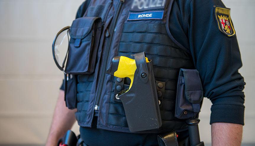 Priti Patel approves new Taser gun model to protect UK police