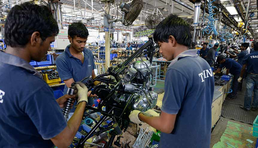 States compete for far-reaching labour reforms in India