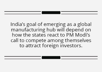 States step on the gas to attract FDI