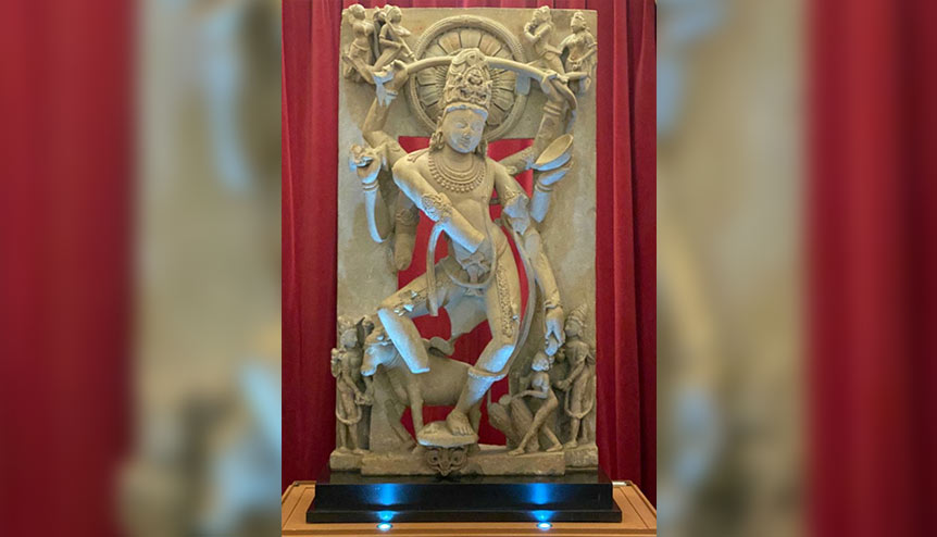 Stolen ancient Shiva statue finds way back to India from UK