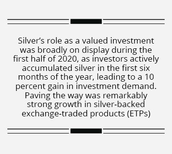 All that glitters…is silver