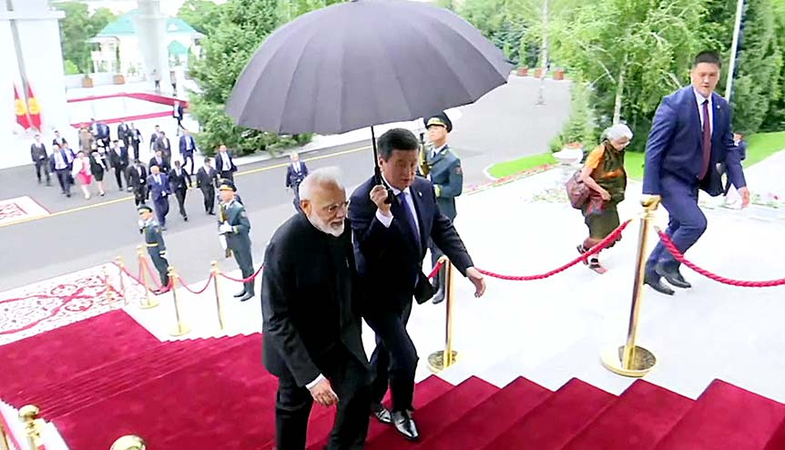 "India's ""Connect Central Asia Policy"" rebooted"