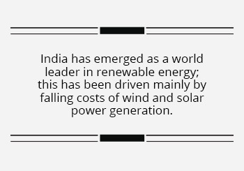 India's ambitious 450 GW RE target by 2030 offers global investors a massive business opportunity