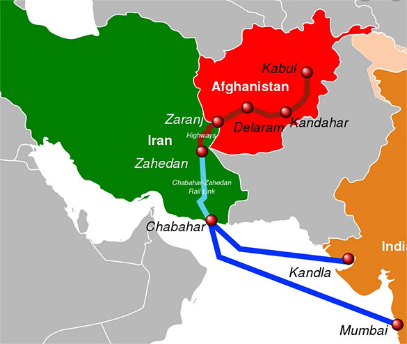 India, Afghanistan and Iran amidst the new Great Game
