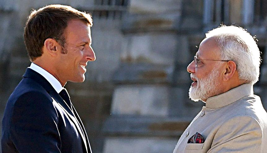 India-France strategic ties built across multiple platforms