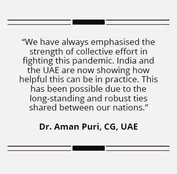 India-UAE recognise there is wealth in health- Blurb2