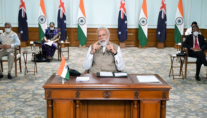 India asserts itself in the Asia Pacific