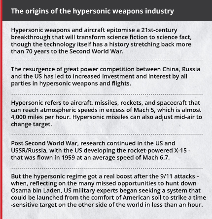 India gains the strategic edge with hypersonic flight
