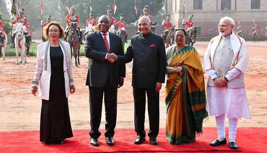 India is strengthening its bonds of friendship and support in the African continent