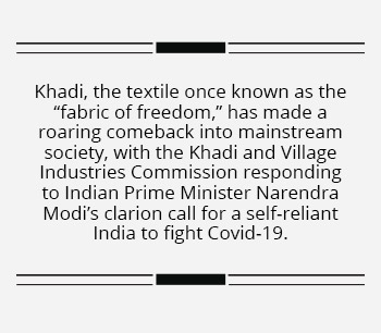 Textile startups showcase India's fabric of unity