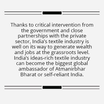 Textile startups showcase India's fabric of unityTextile startups showcase India's fabric of unity