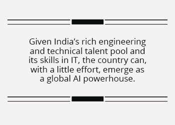 Alliance with the US in AI could help India leapfrog up the global tech ladder