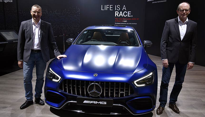 Mercedes plans for EVs in India a statement of intent
