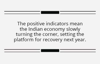 The worst may be over for the Indian economy