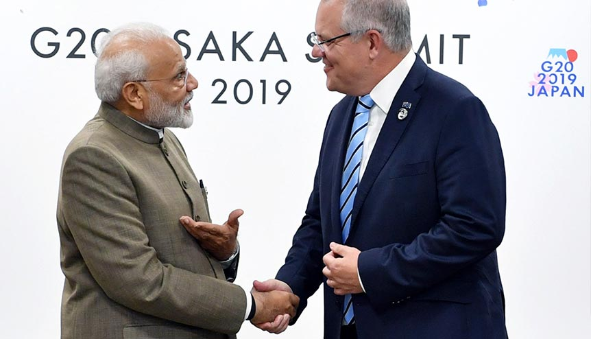 Australia and India, Converging Perceptions, Aligning Interests