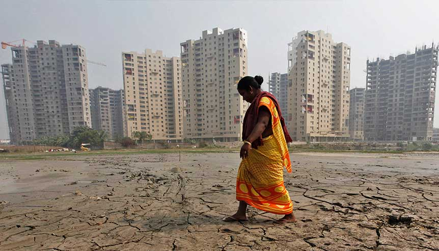India's real estate sector fights back to life