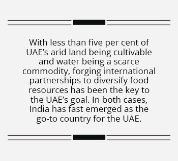 India and UAE build the foundations of food security