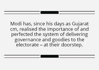 Last mile connectivity at the heart of Modi's governance