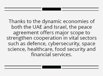 Window of opportunity for India as UAE and Israel embrace peace