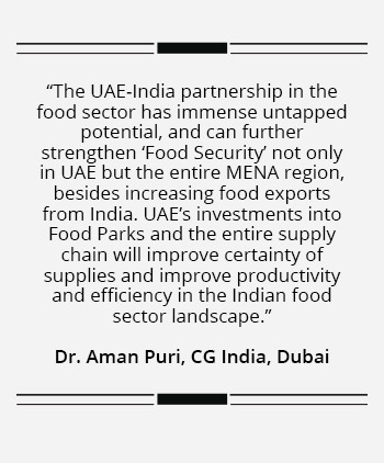 Food for thought for investors in UAE-India summit