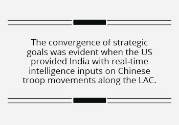 India's lease of US weapons systems an example of strategic convergence